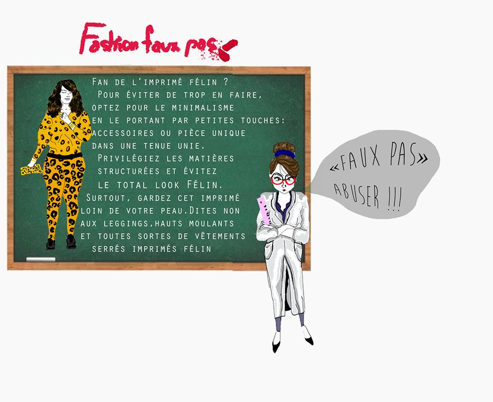Fashion Faux Pas total look félin 2